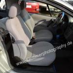 Opel Tigra mit Stoffsitzen in grau