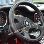 De Tomaso Pantera GT4 Interieur mit Momo Lenkrad