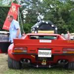 De Tomaso Pantera GT4 rear view