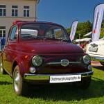 Fiat 500 beim Oldtimertreffen