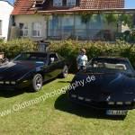 2x Knight Rider K.I.T.T. (umgebauter Pontiac Firebird Trans Am) in Obereisenbach
