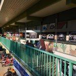 Oldtimerbilder Kunstausstellung meinerseits oben auf der Veranda
