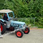 Eicher Traktor bei der Einfahrt zur 6. Kressbronn Classics