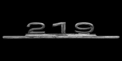 Logo Mercedes-Benz 219 (W 105)