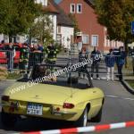 Alfa Romeo Spider im Stadtrundkurs von Meßkirch