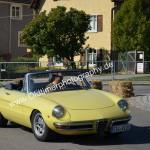 Alfa Romeo Spider auf Rundkurs in Meßkirch