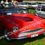 Auto Union 1000 Sp Roadster in rot beim Oldtimer Picknick in Wolfegg