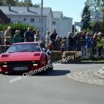 Ferrrari auf Stadtrundkurs beim Oldtimertreffen Meßkirch