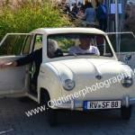 Goggomobil in Meßkirch kurz vor der Heimfahrt nach...