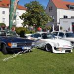 Großes Oldtimertreffen vor dem Schloß Meßkirch