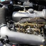 Mercedes-Benz 190 SL Motorraum