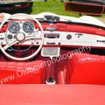 Mercedes-Benz 190 SL Interieur in rot Leder, sonst alles weiß