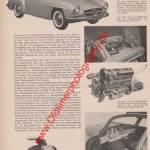 Mercedes Benz 300 SL ... 190 SL Bericht - Mercedes Benz Werbung von 1954