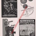 Auto Werbung Reklame von 1953