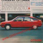 Citroen BX Werbung ams 21/1985