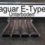 Jaguar E-Type Serie 3 Unterboden / underbody