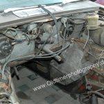 Jaguar XJ12 Double Six Motorraum ohne Motor