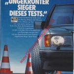 Dunlop Reifen SP Sport D8 M2 Advertising Werbung in AMS von 10/1991