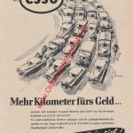 ESSO Werbung Reklame Advertising Motor Revue 1955
