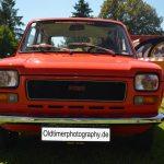 Fiat 127 Frontansicht mit 5 Lüftungsschlitzen im unter dem Kühlergrill