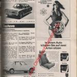 Kronprinz-Räder Scheel-Schalensitze Auto Katalog 1976