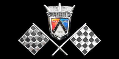 Logo Ford Thunderbird 1957