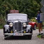 Mercedes-Benz 170 V bei der Einfahrt zum Oldtimertreffen