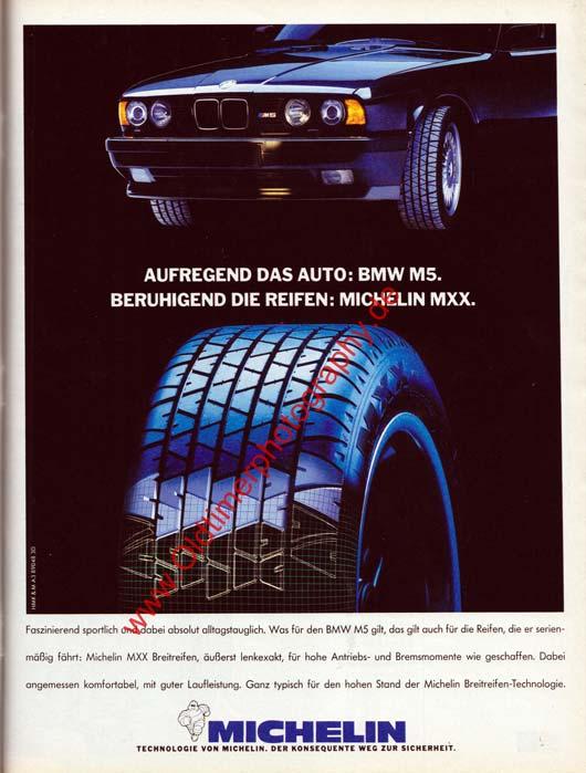 Michelin MXX Reifen in mot Nr. 14, 23. Juni 1989