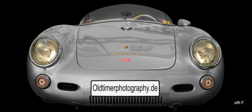 Porsche 550 Spyder Poster by aRi F.