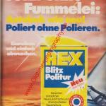 Rex Auto-Politur ams Heft 11, 25. Mai 1974
