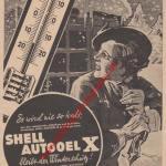 Shell Autooel X Werbung von 1938 in Neue Kraftfahrer Zeitung