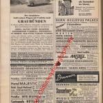 Werbung für diverse Auto-Reisen 60er Jahre