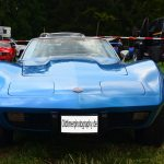 Chevrolet Corvette C3 in Bright Blue