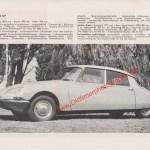 Citroen ID Werbung in Auto Modelle Katalog von 1967-1968