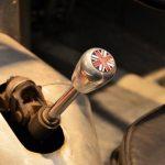 Lister Jaguar Schaltknauf mit Union Jack
