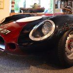 Lister Jaguar front view