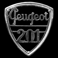 Logo Peugeot 201