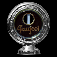 Logo Peugeot 201 in Motometer