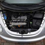 VW New Beetle Motorraum ohne Schallabdeckung
