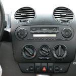 VW New Beetle mit Instrumententafel Radio Temperaturregelung usw.