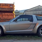 "smart Roadster-Coupé in ""Glance Grey Metallic"""