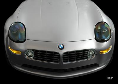 BMW Z8 Poster in Originalfarbe