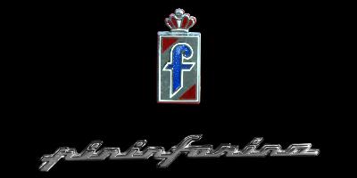 Logo Pininfarina auf Ferrari Testarossa 512