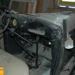 Opel P4 Interieur gut eingestaubt im Lauf der Jahrzehnte