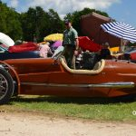 Triking Cyclecar beim Oldtimer Picknick in Wolfegg