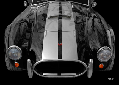 AC Cobra 427 Poster in darkblack