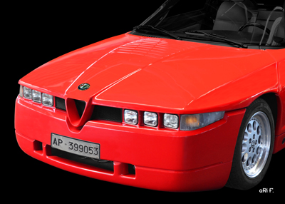 Alfa Romeo E 30 Poster in Originalfarbe