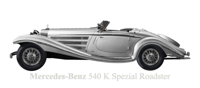 Mercedes-Benz W 29 540 K Spezial Roadster in Originalfarbe