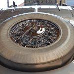Mercedes-Benz 540 K Spezial Roadster Ersatzrad mit Persenning geschützt