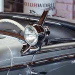Mercedes-Benz 540 K Spezial Roadster Interieru und seitlichen Suchscheinwerfern